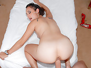Hot latina fucked hard in these hot rican babe fuck vids