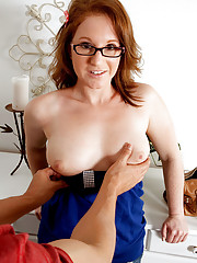 Busty Moms in Glasses