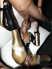Crazy startrek porn babes get fucked and licked in this star trek convention sex group sex orgy hot club fucking pics