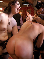 San Francisco BDSM players gather to enjoy a fine brunch prepared by the TUF house slaves followed by intense play and hot sex.