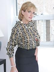 Big tits classy mature trophy wife