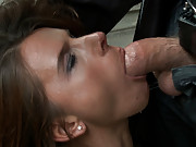 Sexy MILF is bound , stripped, and made to carry a mattress through the city so everyone can see what a huge whore she is!