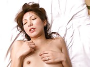 Yua Kisaki Horny gal gets her pretty face covered in jizz