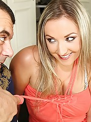 Smoking hot big tits blonde nailed hard in these hot titty fucking cumfaecd pics