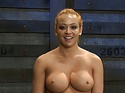 Mia Lelani is strung up, tortured, and made to show just how much of a cock whore she really is.