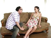 Asuka Yuki Asian slut caught by husband with her young lover