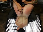 Hot slave slut get used and whipped hard