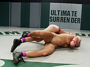 Two buff athletes wrestle it out to see who gets to brutally fuck and humiliate the other.  All Non-scripted wrestling, intense crushing submissions!