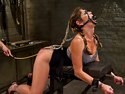 Hot dominatrix is put in her place, brutally punished, pounded deep in the ass and has every orgasm ripped from her body until she squirts all over.