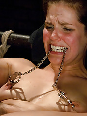 Bobbi Starr endures extreme rough sex and hard bondage from Nacho Vidal!