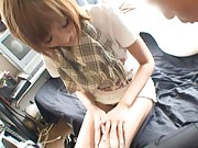 Kirara Asuka Asian pays visit of dude wearing such a short skirt