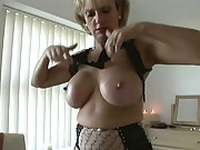 Milf dressing ready to masturbate
