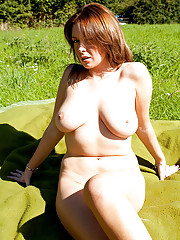 Busty Moms Outdoor
