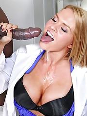 Super hot big tits nurses fucked hard in the exam room real hot power fucking group sex krissy lynn