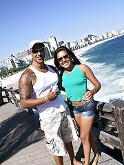 Hot ass brazilian teen fucked hard in her ass on the open seas hot sex pics