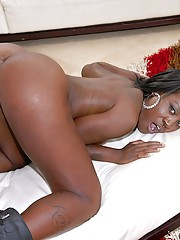Fucking hot ass horny black babe pounded hard in these amazing cumfaced public sex
