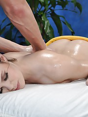 Jenna seduced and fucked hard by her massage therapist