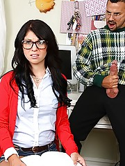 Hot teen finger fucked in her asshole then fucked by teacher hot pics