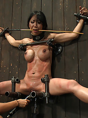 Bound in metal, fucked by machine. Tia gets brutally whipped by Isis and made to take off her own zipper. Find out if she deserved her orgasms.