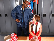 Super sexy cheerleader student fucked hard in her ass by her black instructor hot screaming teen anal 4 sex movies