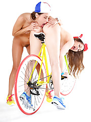 Celeste star sammie rhodes dani daniels destiny dixon super hot lesbian sex in these bicycle sex pics