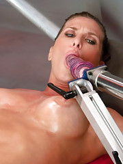 Muscles ripping, air tight 3 machine plowing orgasms and aliens all get the attention of Ariel X & her holes.