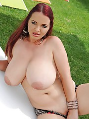 Huge Tits Outdoor