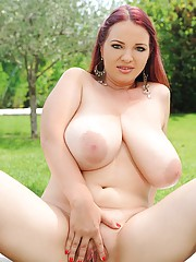 Big Tits Spreading