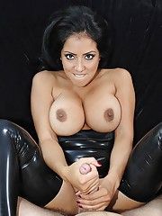 Hot ass milf vixen pounded hard in her leather outfit
