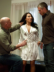 Sexy Asian therapist is blackmailed and fucked in bondage!  Asa Akira in anal bondage sex and submissive porn!