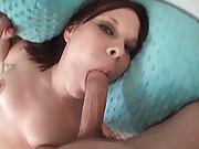Tori creams hard when she is fucking on film