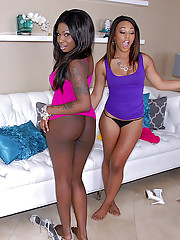 2 fucking hot ass ebony babes power fucked hard 3some teen sex fucking cumfaecd party
