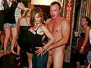 Cock sucking girls enjoy dancing and fucking