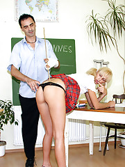Dirty teacher fucks his very horny student