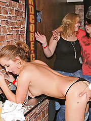 Dudes boning cute hot drunk babes at a party