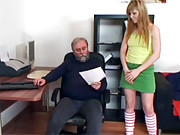 Very old horny dude banging a younger chick