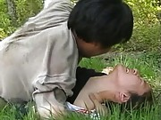 Reiko Akiyama Asian is licked and fucked in cunt at land working