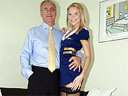 Very horny fart banging a real british beauty