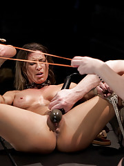 Lesbian Slave Training Ariel X -Featured Trainer-Aiden Starr