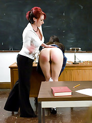 Three hot students get revenge on their teacher Kylie Ireland