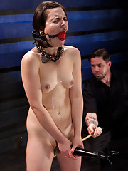 Orgasm denial and sadistic torment push this slave into true submission
