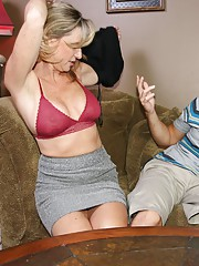 Teen babe Stella Banxxx loves her new Bf Jimmy. But things get out of hand when they visit Stellas step-mom Jodi West