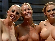 Sexy MILF stepmom is punished, fisted and double penetrated!