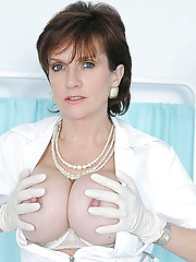 Mature nurse nipples