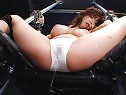 Rio Hamasaki gets chained to a chair which really gets her horny