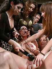 Brandy Aniston gets fisted and made to squirt for the first time ever in front of live audience! Anal sex, double penetration, strap-ons and more!!!