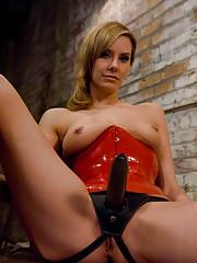 Matrisse Madeline trains the basement slave in hard BDSM