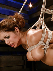 Maitresse Madeline gives Francesca Le no breaks and dominates and fucks her with tough lesbian bondage and hot strap-on ass fucking!