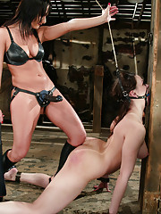 Lots of submission, hard punishment, humiliation, & hardcore sex!