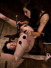 Sparks fly between 20 year old Lindy Lane and world famous Fem-Dom Princess Donna Dolore